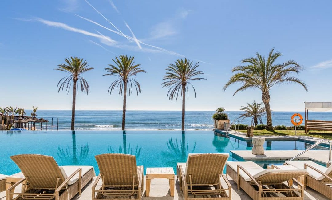 Textos de la web Beach Club Estrella del Mar, de Vincci Hoteles