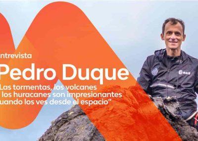 Entrevista a Pedro Duque